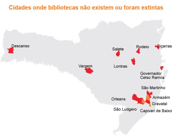 mapa bilbliotecas