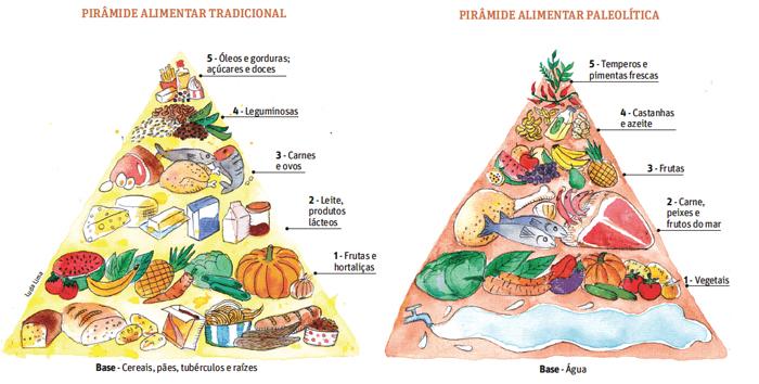 piramide alimentar paleolítica