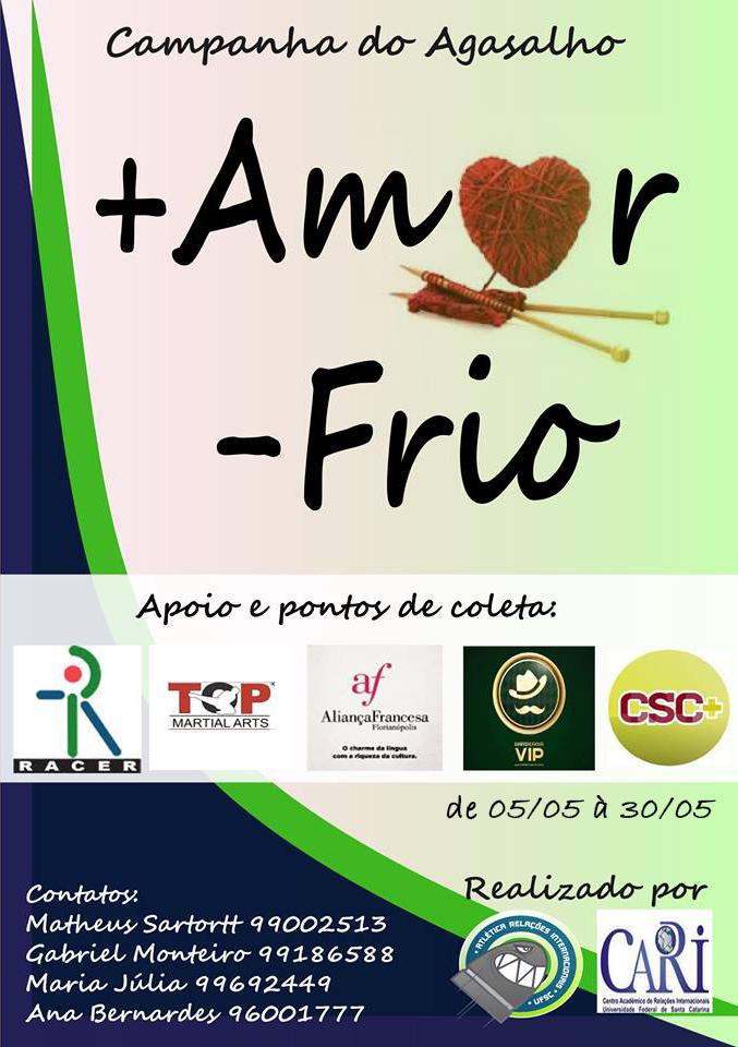 Cotidiano Estudantes de Relações Internacionais lançam campanha do ... 8d9f2457b6a