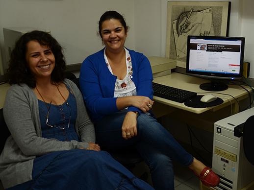 Cláudia Grijó e Deise Freitas, pesquisadoras membros do Nupill