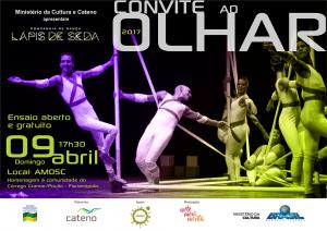 cartaz virtual Convite ao olhar