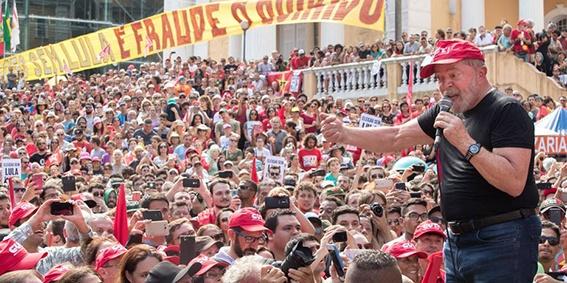 CARAVANA LULA PELO BRASIL / REGIAO SUL / FLORIANOPOLIS