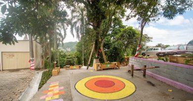 Servidão dos Lageanos, na Serrinha, ganha o primeiro espaço público de lazer com projeto de ex-alunos da UFSC e construção participativa