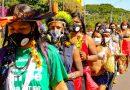 Na mira da polícia e do Congresso, povos indígenas acampam em Brasília pelo direito à terra